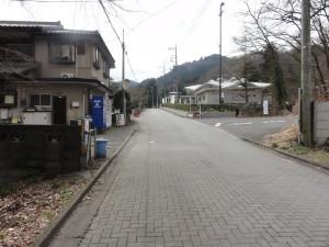 八王子城への道
