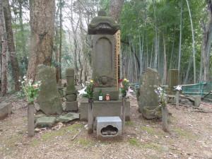 八王子城の北条氏照 及び 家臣墓 正面
