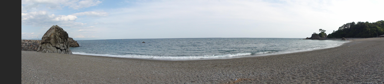 桂浜-パノラマ