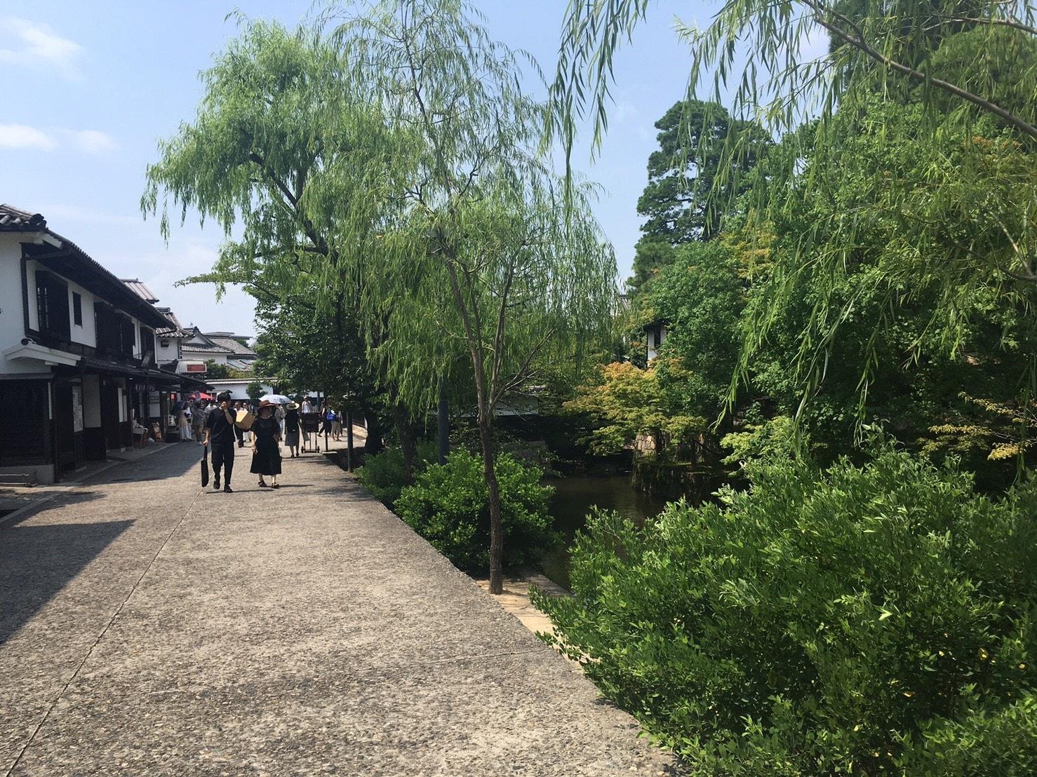 倉敷美観地区の風景
