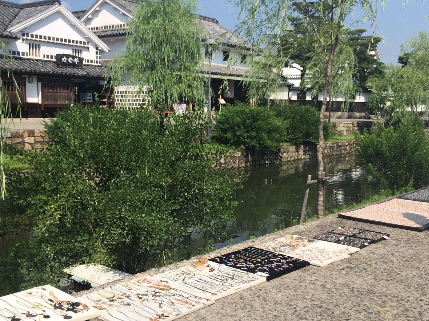 倉敷美観地区の露店