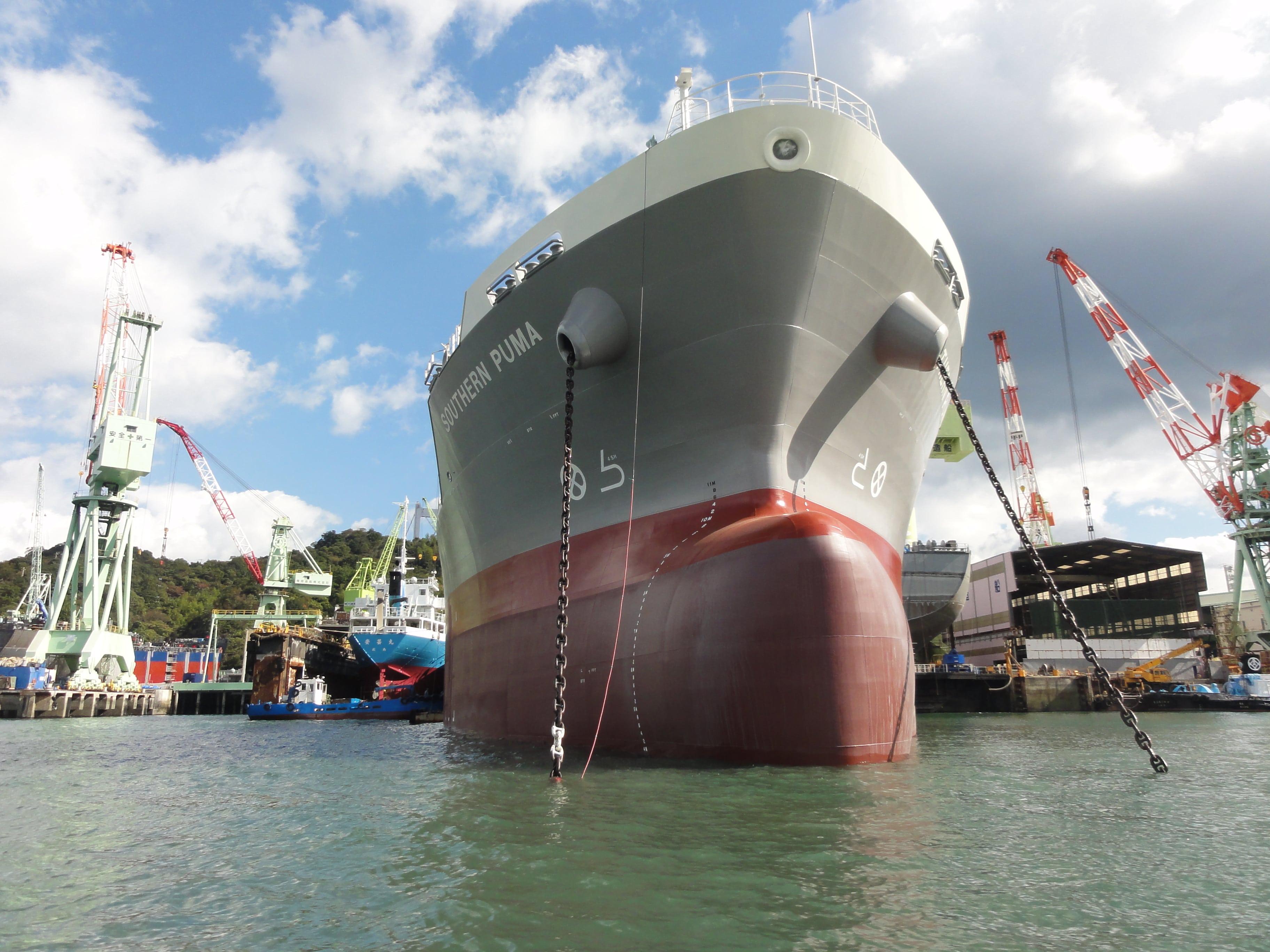 造船所の船