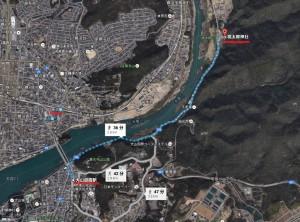犬山遊園駅から桃太郎神社へのアクセス