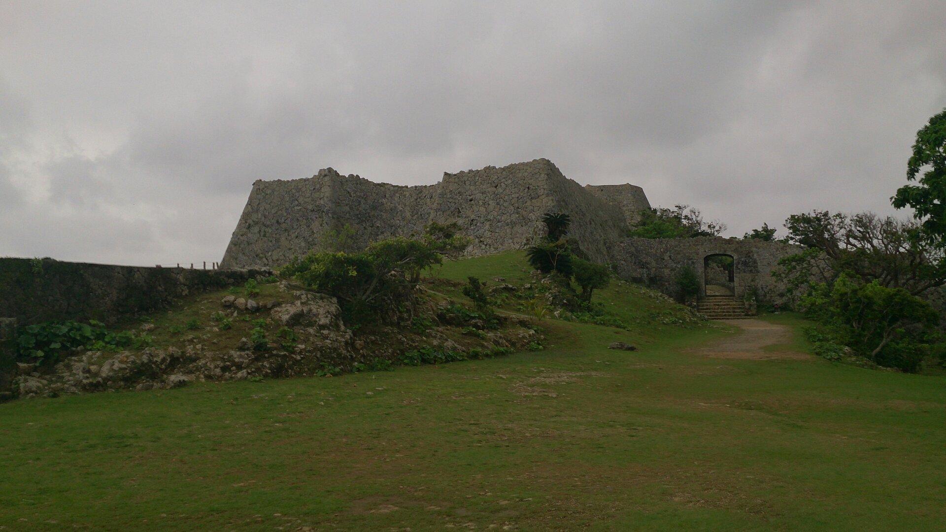 中城の遠景