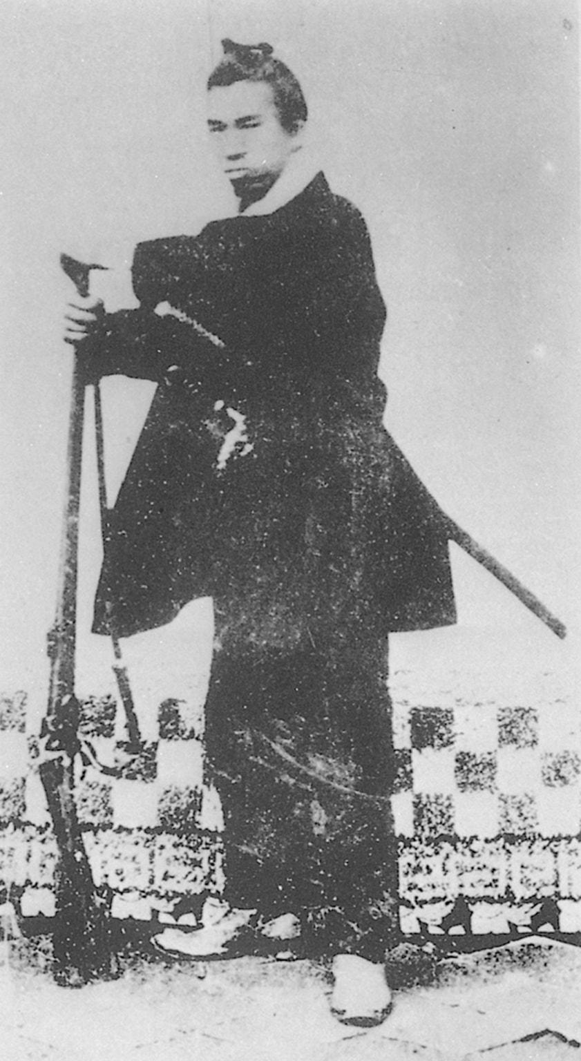 谷干城肖像