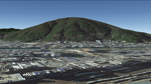 眉山-Google Earth-