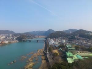 犬山城からの眺め