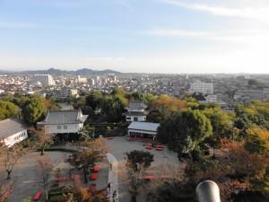 犬山城からの眺め正面