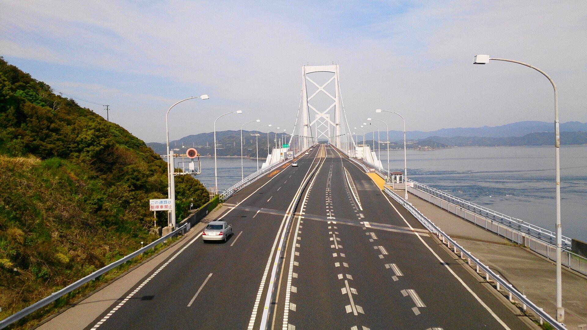 大鳴門橋正面