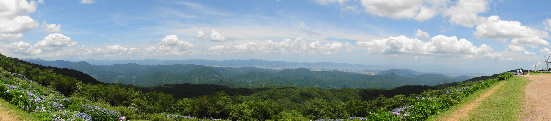 大川原高原パノラマ