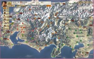 戦国立志伝のマップ