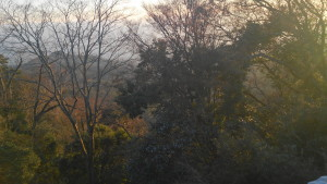 高取城からの見晴らし