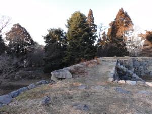 高取城-石垣の上