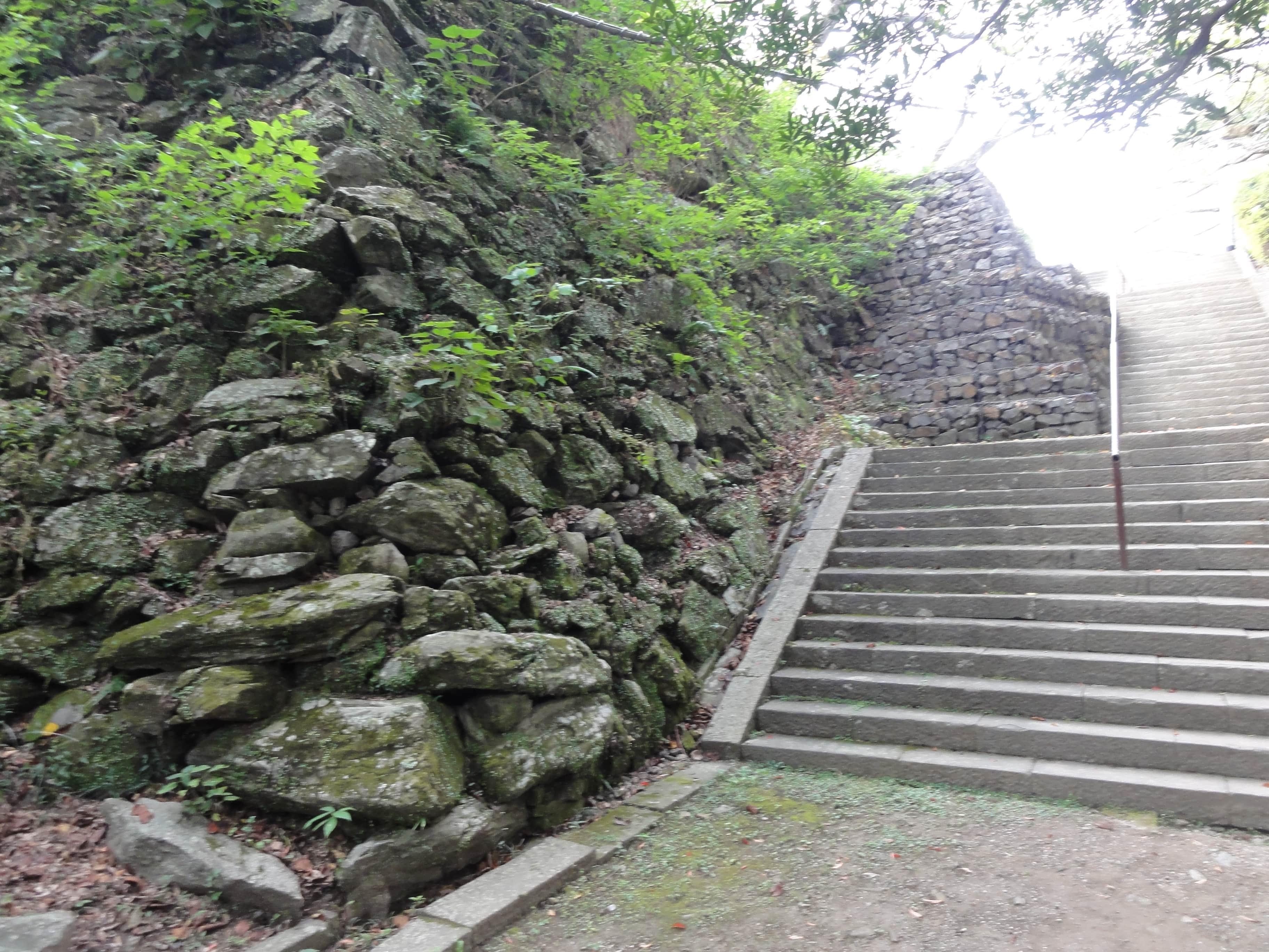 城山階段…最後の上り