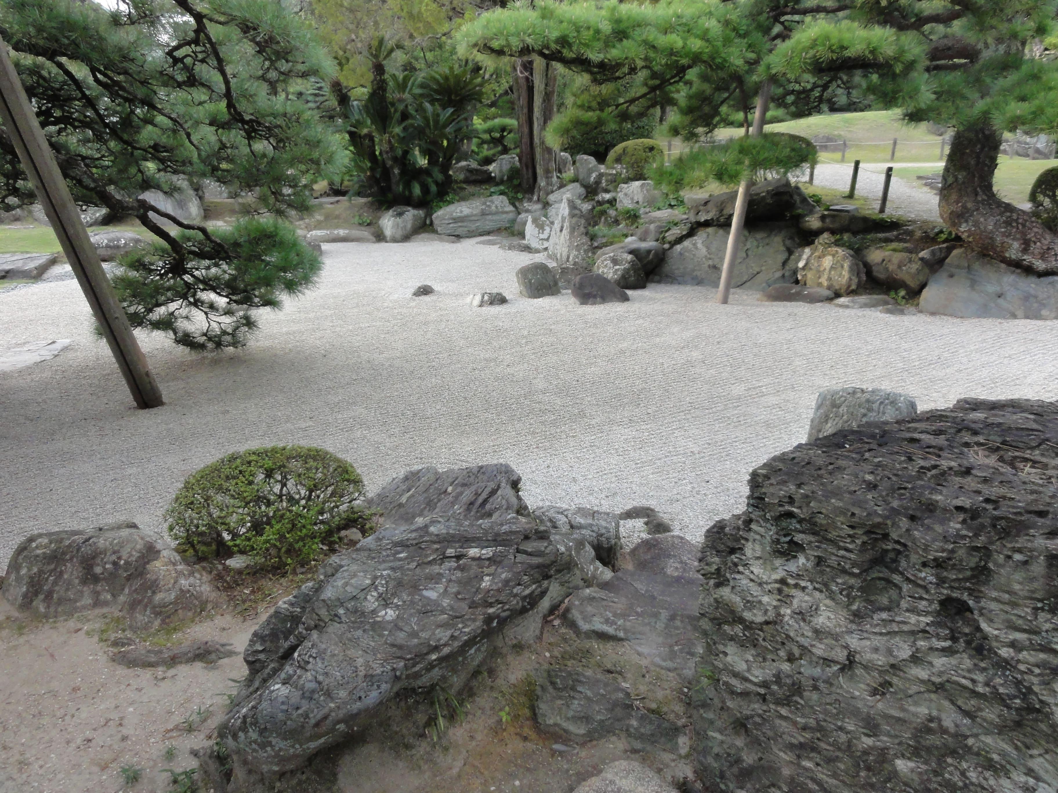 旧徳島城表御殿庭園 枯山水