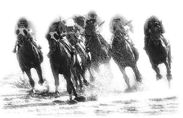 競馬予想の画像